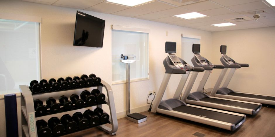 Holiday Inn Express and Suites Oswego Fitness center